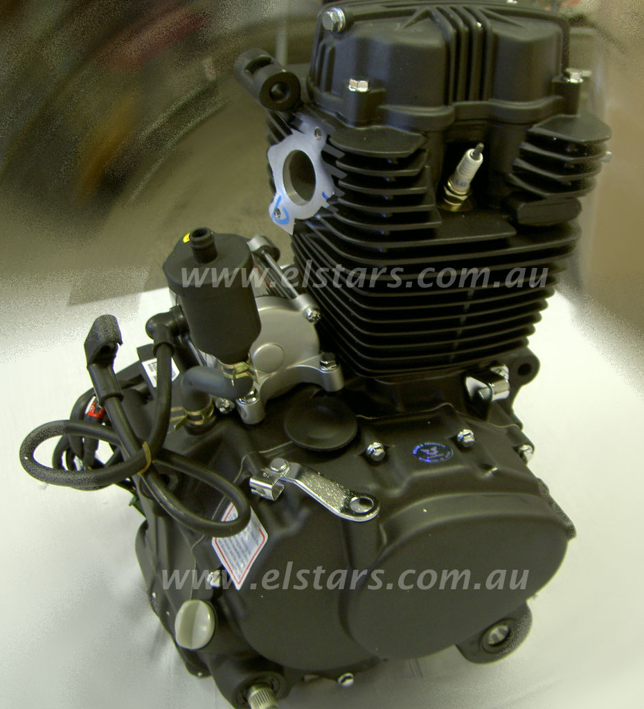 250cc Engine: Elstar 250cc 167FML Air Cooled Engine 5 Speed With Reverse